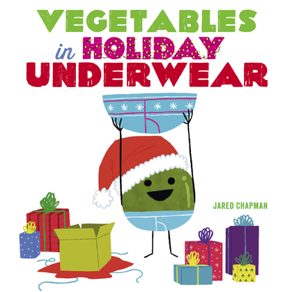 Vegetables in Holiday Underwear