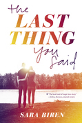 The Last Thing You Said