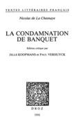 La Condamnation de banquet