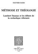 Méthode et théologie