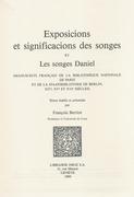 Exposicions et significacions des songes ; et Les songes de Daniel