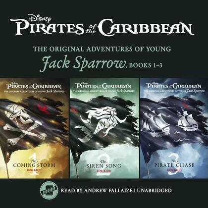 Pirates of the Caribbean: Jack Sparrow Books 1–3