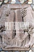 Deuteronomy - Bible Commentary