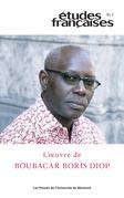 Études françaises. Vol. 55 No. 3,  2019