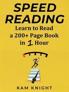 Speed Reading Learn to Read a 200+ Page Book in 1 Hour