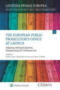 The european public prosecutor's office at launch