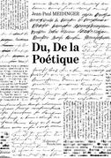 Du, De la Poétique