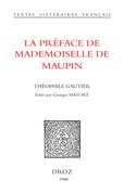 La Préface de Mademoiselle de Maupin