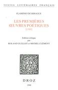 Les premières Œuvres poétiques : 1585