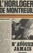 L'horloger de Montreuil