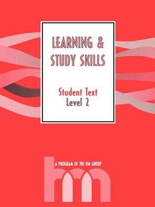 Level II: Student Text: hm Learning & Study Skills Program