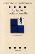 La faute professionnelle : Une sociologie des conflits de responsabilité