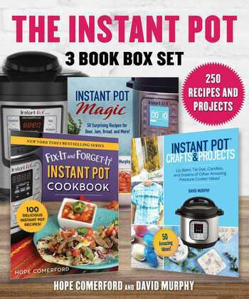 Instant Pot 3 Book Box Set