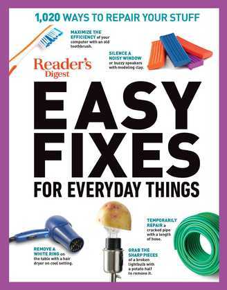 Reader's Digest Easy Fixes for Everyday Things
