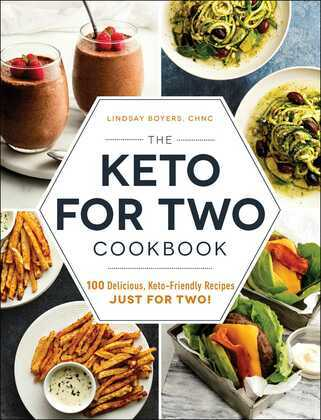The Keto for Two Cookbook