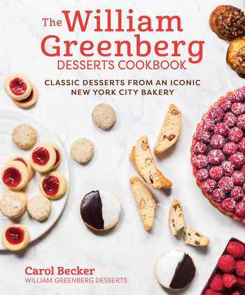 The William Greenberg Desserts Cookbook
