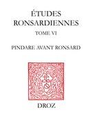 Pindare avant Ronsard