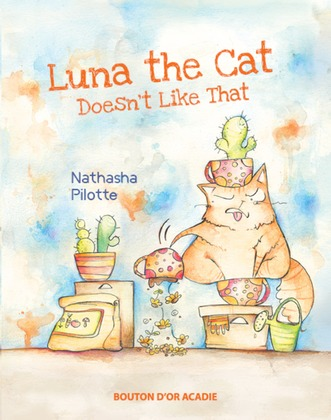 Luna The Cat Doesn't Like That
