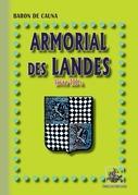 Armorial des Landes - (Livre 3-a)