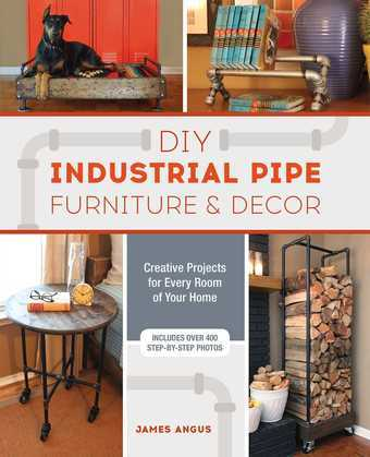 DIY Industrial Pipe Furniture and Decor
