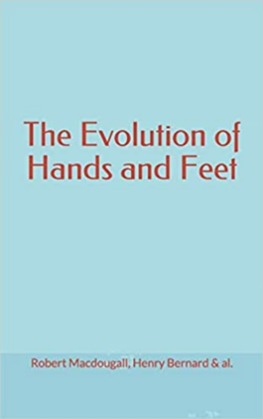 The Evolution of Hands and Feet