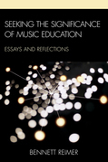 Seeking the Significance of Music Education