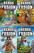 Coffret 4 livres - Héros fusion