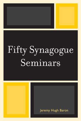 Fifty Synagogue Seminars