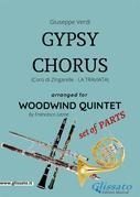 Gypsy Chorus - Woodwind Quintet set of PARTS