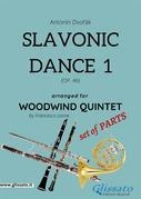 Slavonic Dance 1 - Woodwind Quintet set of PARTS