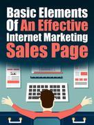 Basic Elements of an Effective IM Sales Page