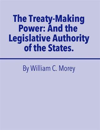 The Treaty Making Power