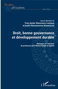 Droit, bonne gouvernance et développement durable