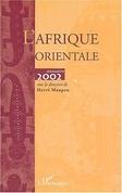 Afrique orientale annuaire 2002