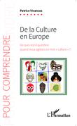De la culture en Europe