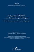 Intégration de l'altérité dans l'apprentissage des langues