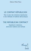 Le contrat républicain - mise en place des institutions répu