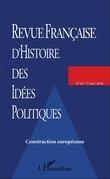 REVUE FRANCAISE D'HISTOIRE DES IDÉES POLITIQUES - 43
