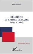 Génocide et crimes de masse (1933-1946)