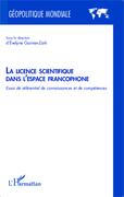 La licence scientifique dans l'espace francophone