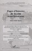 Pages d'histoire de la côte mauritanienn