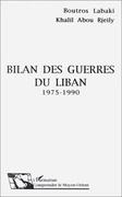 Bilan des guerres du Liban 1975-1990