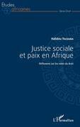 Justice sociale et paix en Afrique