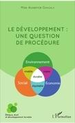 Le développement : une question de procédure