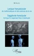 Lexique français / pular de mathématiques et des sciences de la vie
