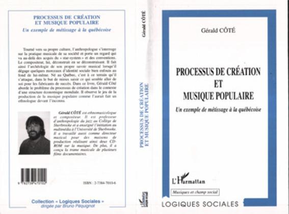 PROCESSUS DE CREATION ET MUSIQUE POPULAIRE