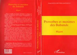 Proverbes et Maximes des Bahunde