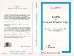 Éléments de Sociologie Phénoménologique