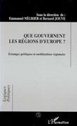 Que gouvernent les régions d'Europe ?