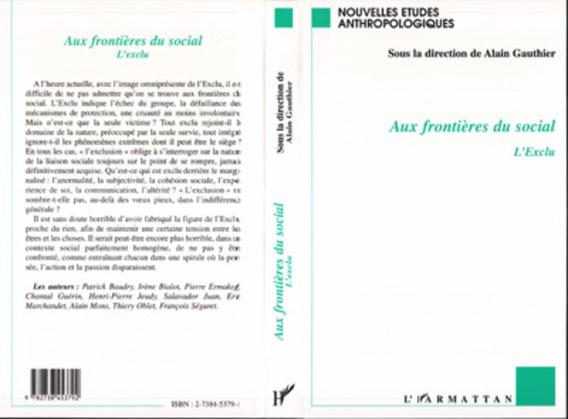AUX FRONTIÈRES DU SOCIAL